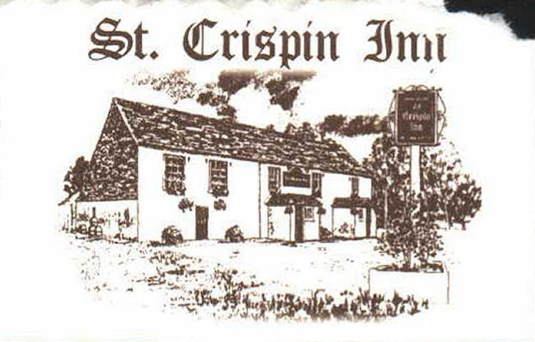 Crispin Inn at Worth, card
