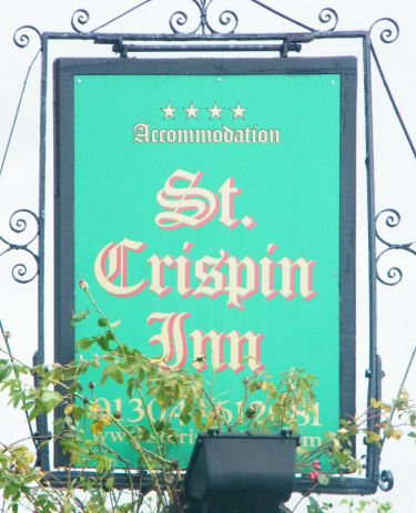 St. Crispin sign 2011