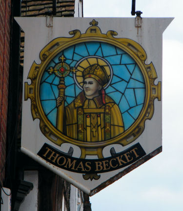 Thomas Becket sign 2012