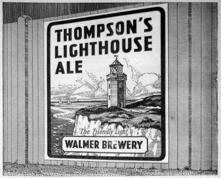 Thompson's Advert 1938