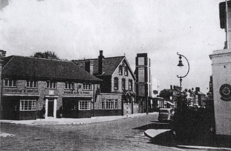 Swan Inn at Deal post 1937