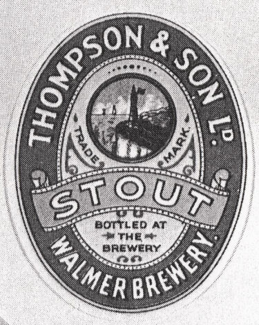 Thompson's Stout Label