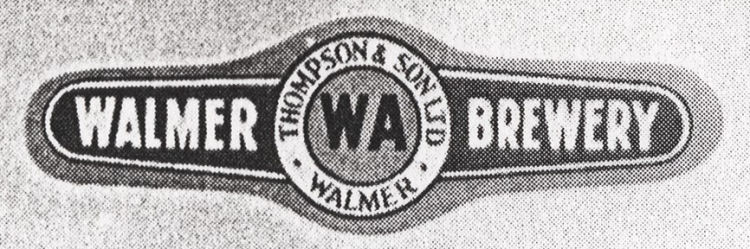 Thompson's Walmer Brewery Label