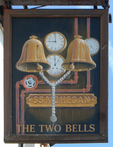 Two Bells Sign, Folkestone 2009