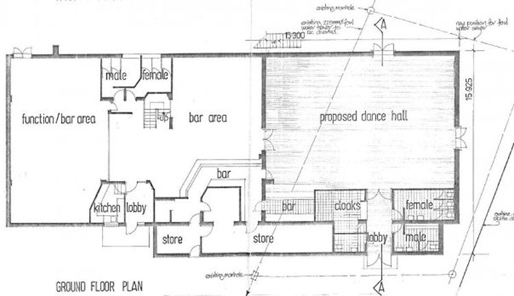Whitfield Club plans