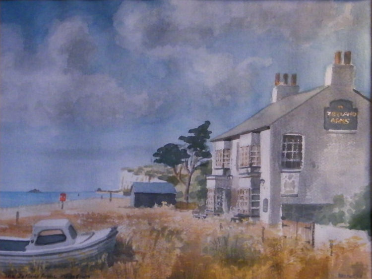 Zetland Arms painting