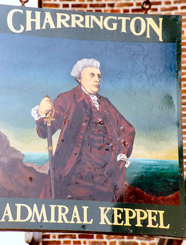 Admiral Keppel sign