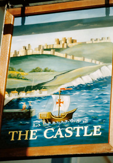 Castle Inn  sign 1991