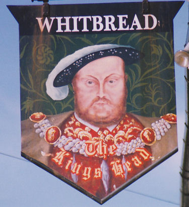 King's Head sign 1991