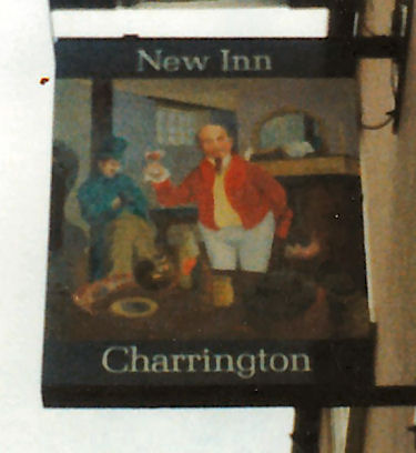 New Inn sign 1987