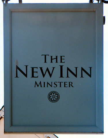 New Inn sign 2012