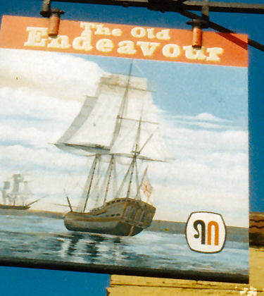 Old Endeavour 1987