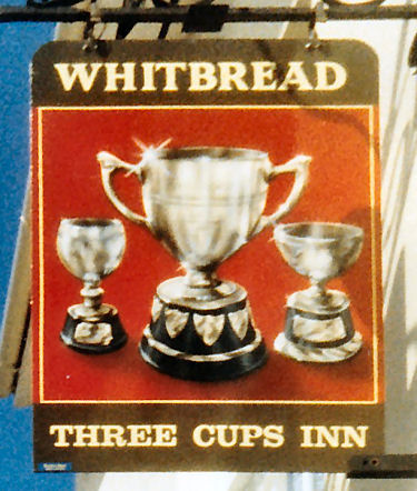 Three Cups sign 1986