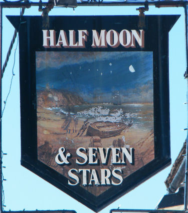 Half Moon and Seven Stars sign 2013