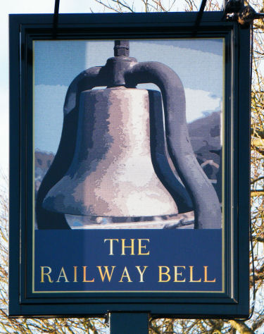 Railway Bell sign 2013