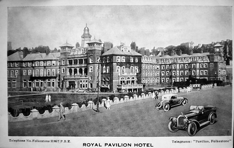 Royal Pavilion Hotel date unknown